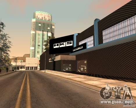 New HKS Style Tuning Garage for GTA San Andreas