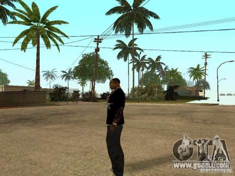 T-shirt Nike for GTA San Andreas fifth screenshot