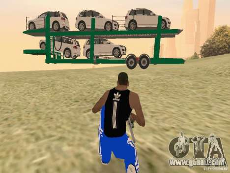 Car Transporter for GTA San Andreas right view