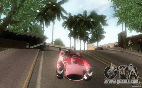 Ferrari 250 Testa Rossa for GTA San Andreas inner view