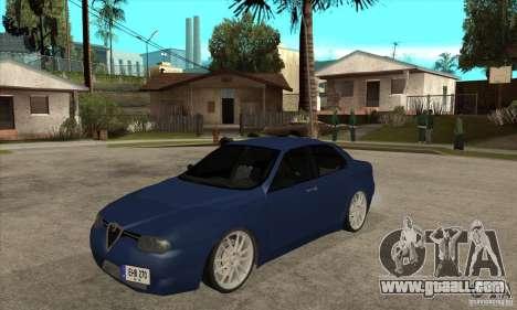 Alfa Romeo 156 Light Tune for GTA San Andreas