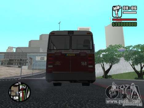 DAF CSA 1 City Bus for GTA San Andreas right view