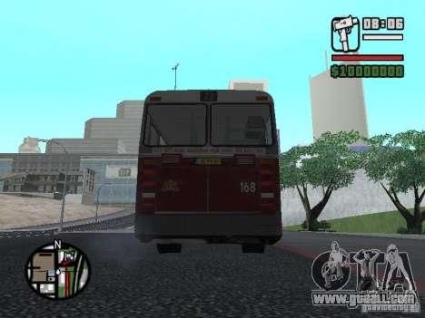 DAF CSA 1 City Bus for GTA San Andreas right view