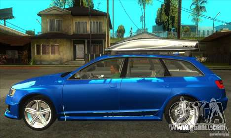 Audi RS6 Avant 2009 for GTA San Andreas left view
