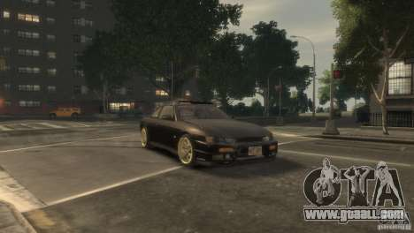 Nissan Silvia S14 Stance for GTA 4 side view
