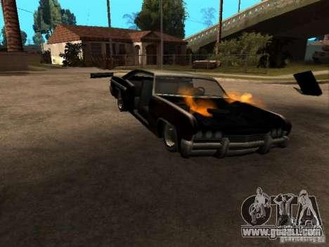 Wrecked car fix for GTA San Andreas