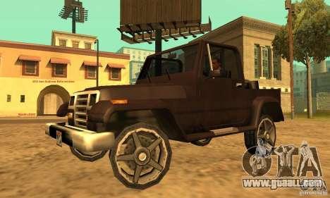 Mesa From Beta Version for GTA San Andreas