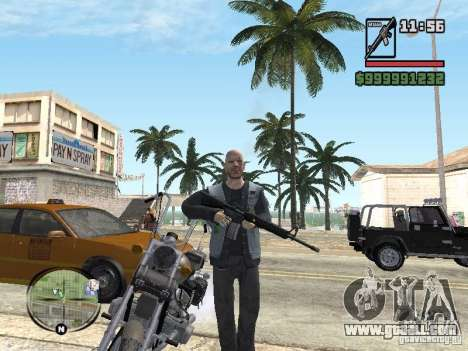 Vagos Biker for GTA San Andreas