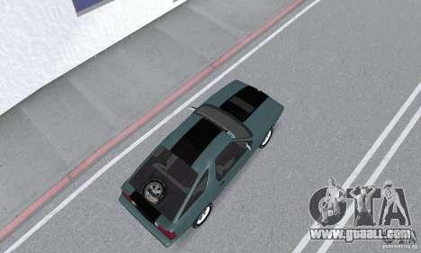 Dodge Daytona Turbo CZ 1986 for GTA San Andreas back left view