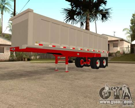 Artict3 Dump Trailer for GTA San Andreas