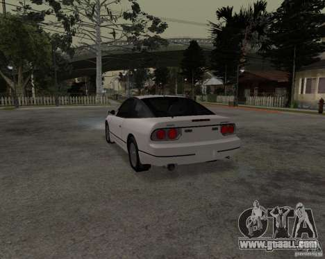 Nissan 240SX (stock) for GTA San Andreas left view