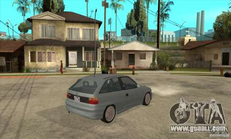 Opel Astra GSI 1993 Stock for GTA San Andreas right view