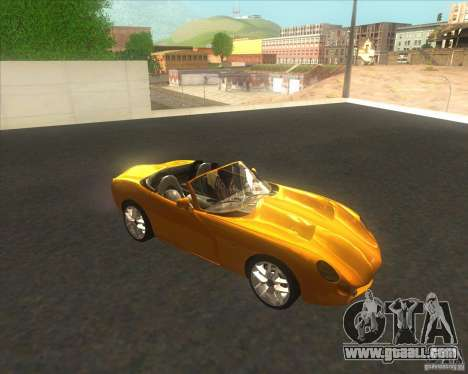 TVR Tuscan for GTA San Andreas back left view