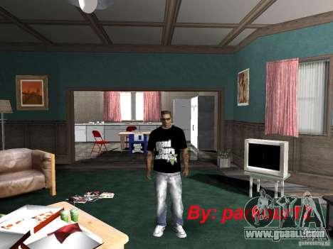 The t-shirt GTA 5 for GTA San Andreas