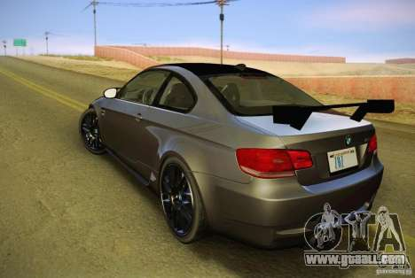 BMW M3 GT-S Final for GTA San Andreas left view
