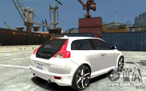 Volvo C30 T5 R-Design 2009 for GTA 4 right view