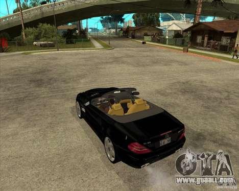 Mercedes Benz AMG SL65 V12 Biturbo for GTA San Andreas left view