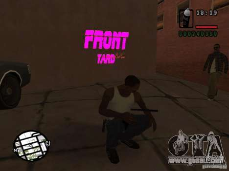 New graffiti gangs for GTA San Andreas third screenshot