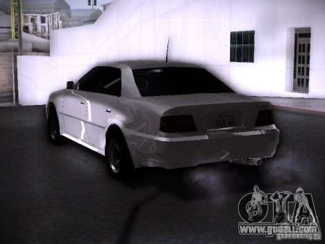 Toyota Chaser 100 for GTA San Andreas left view