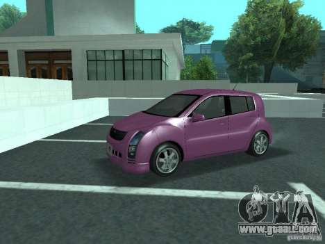 Toyota WiLL Cypha for GTA San Andreas inner view