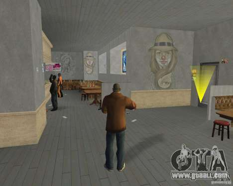 New textures of eateries and shops for GTA San Andreas ninth screenshot