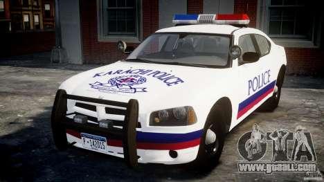 Dodge Charger Karachi City Police Dept Car [ELS] for GTA 4