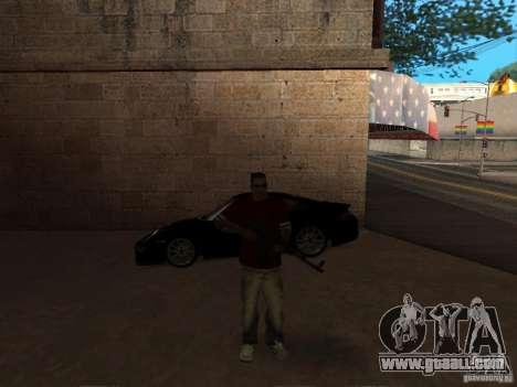 AK-47 HD for GTA San Andreas third screenshot