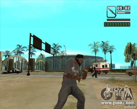 New Knife for GTA San Andreas second screenshot