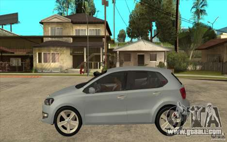 Volkswagen Polo 2011 for GTA San Andreas left view