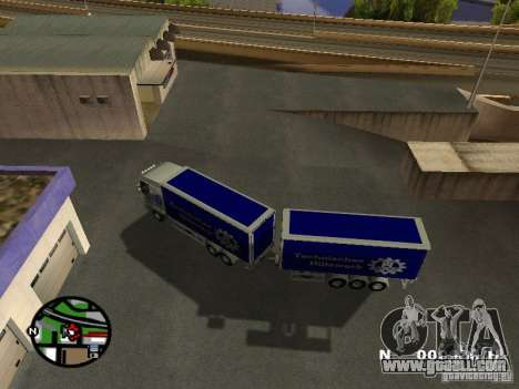Iveco Stralis for GTA San Andreas right view
