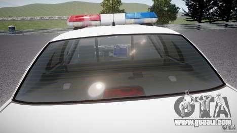 Ford Crown Victoria Karachi Traffic Police for GTA 4 interior