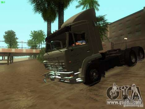 KAMAZ 6460 for GTA San Andreas upper view