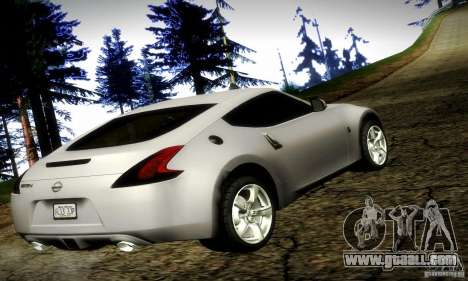 Nissan 370Z V2 for GTA San Andreas left view