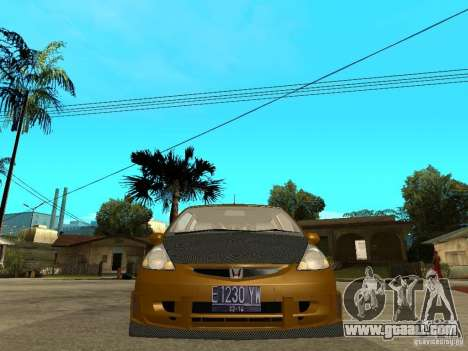 Honda Jazz Sport for GTA San Andreas right view