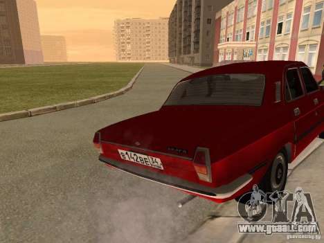 Volga GAZ 24-10 for GTA San Andreas right view