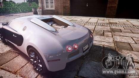 Bugatti Veyron Grand Sport [EPM] 2009 for GTA 4 interior