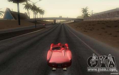 Ferrari 250 Testa Rossa for GTA San Andreas back left view