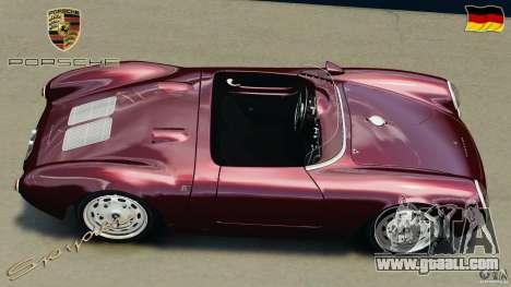Porsche 550 A Spyder 1956 v1.0 for GTA 4 right view