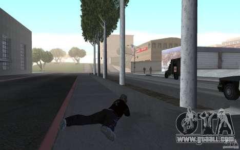 New animation shooting rifles for GTA San Andreas
