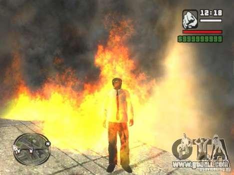 Black Helmet for GTA San Andreas forth screenshot