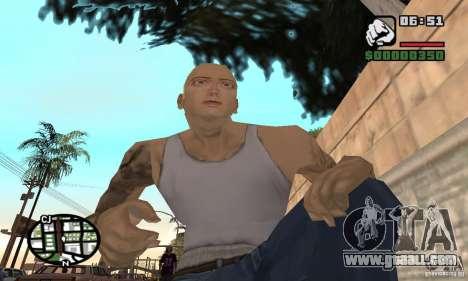 Eminem for GTA San Andreas forth screenshot