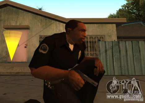Pak Domestic Weapons Upgraded for GTA San Andreas second screenshot