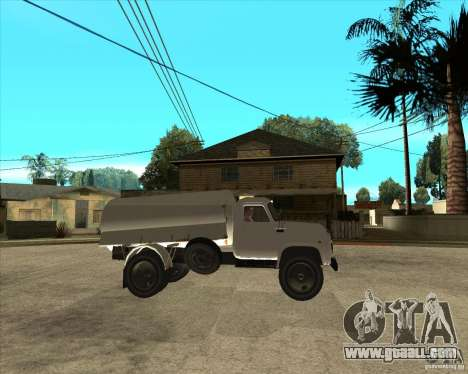 Gaz-52 fuel truck for GTA San Andreas right view