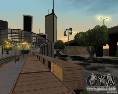 New railway station for GTA San Andreas tenth screenshot