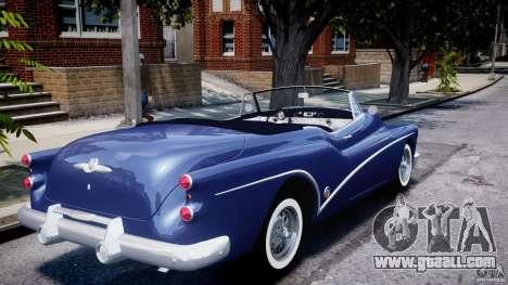 Buick Skylark Convertible 1953 v1.0 for GTA 4 bottom view