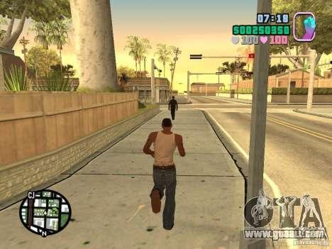 Vice City Hud for GTA San Andreas
