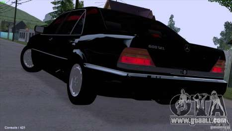 Mercedes-Benz 600SEL for GTA San Andreas left view