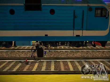 New Rails for GTA San Andreas fifth screenshot