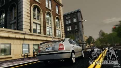 Skoda Octavia v.1.0 for GTA 4 right view