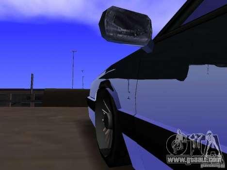 Willard Drift Style for GTA San Andreas inner view